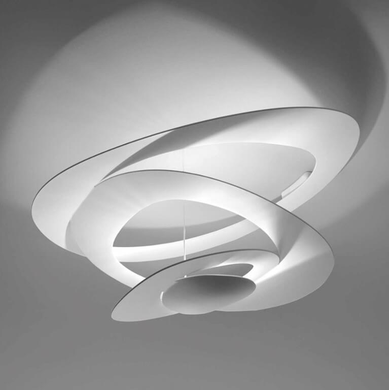 Artemide Pirce Mini Soffitto Plafondlamp Led 3000K Zacht Wit