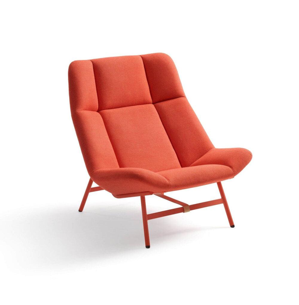 Artifort Soft Facet Fauteuil Oranje Stof E00208941