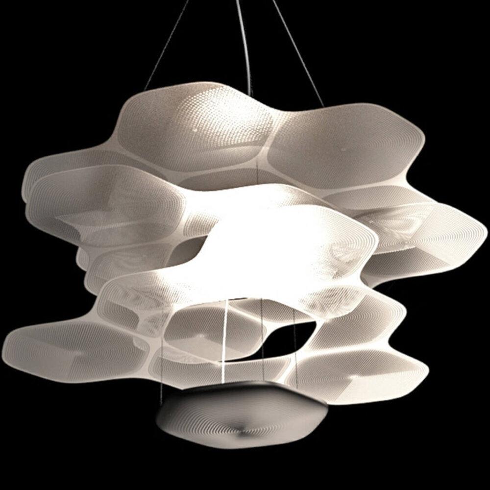 Artemide Space Cloud Hanglamp Foto Breed Overzicht