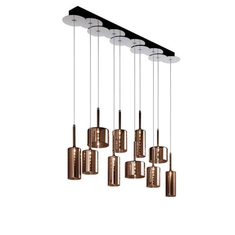 Axolight Spillray 10 Hanglamp Brons