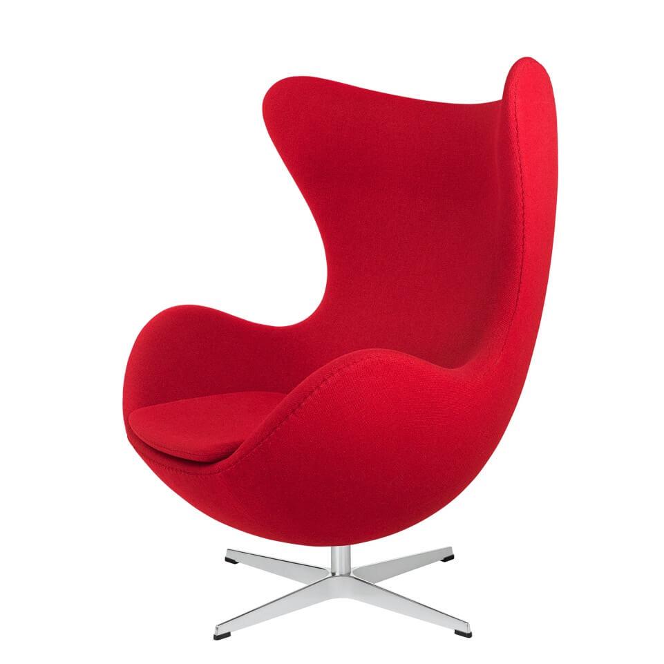 Fritz Hansen Egg Chair Fauteuil Roodkopie