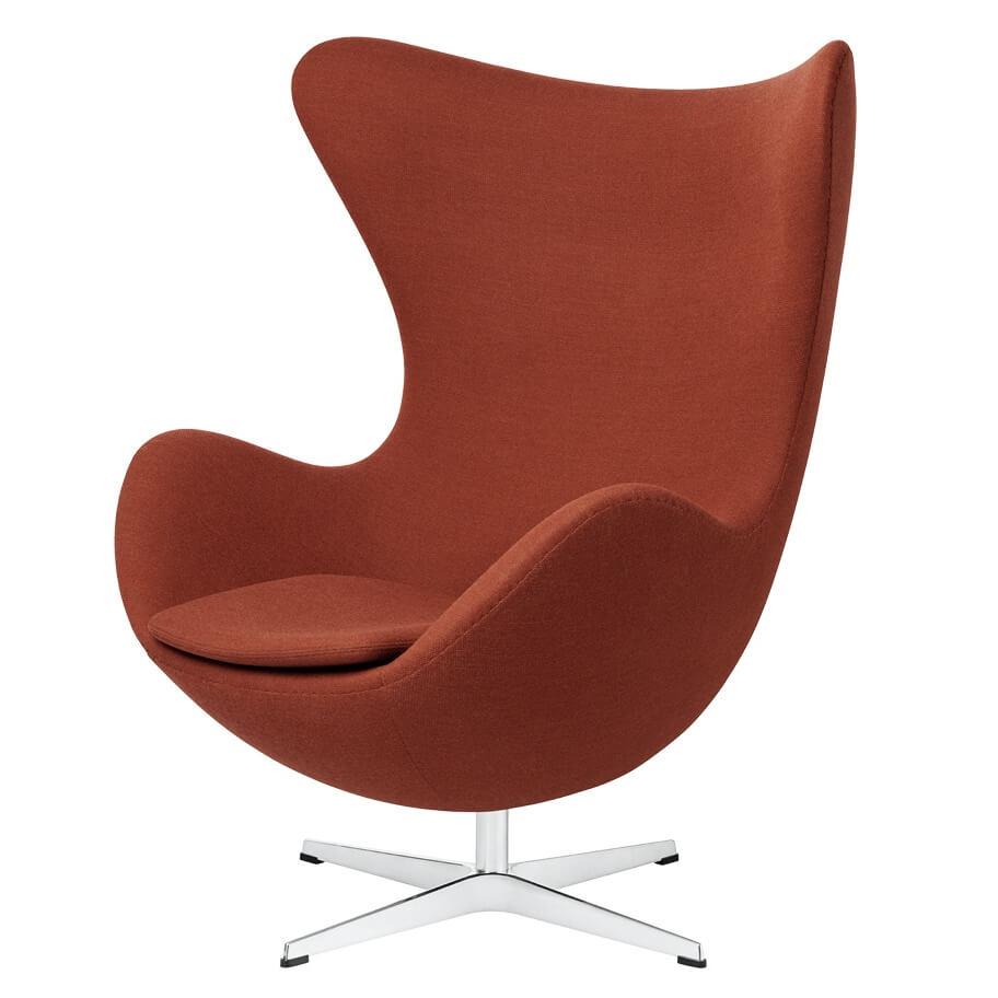 Frtiz Hansen Egg Chair Fauteuil Oranjee