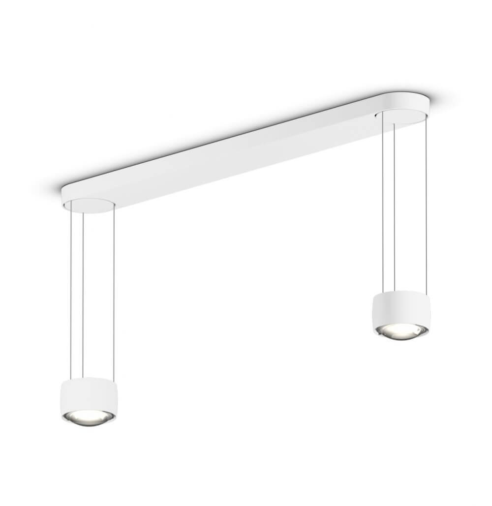 Hanglamp Sento E Sospeso Due Up Variabel Mat Wit12394L