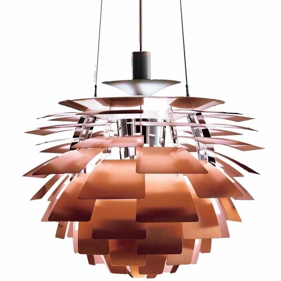 Louis Poulsen Artichoke Hanglamp Koper 1