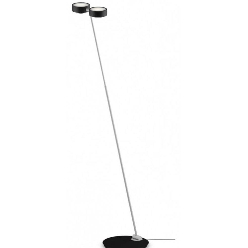 Vloerlamp Sento E Led Terra Mat Zwartmat Chroom12672L