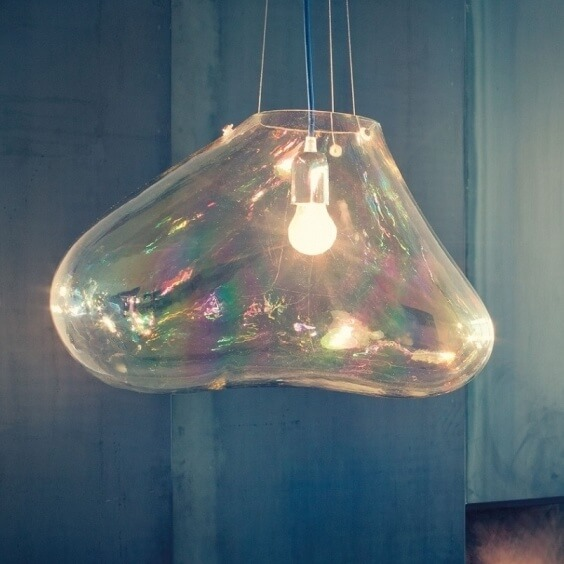 Bolla Suspension Lamp Fontana Arte