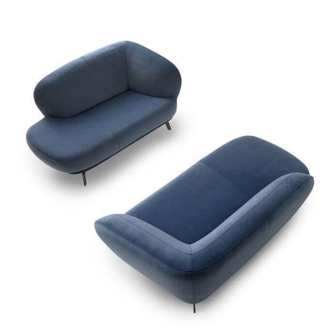 Flint Fabric Blue 0001