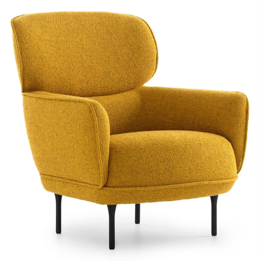 Pode Cabut Fauteuil Paars Stof E00017915 7