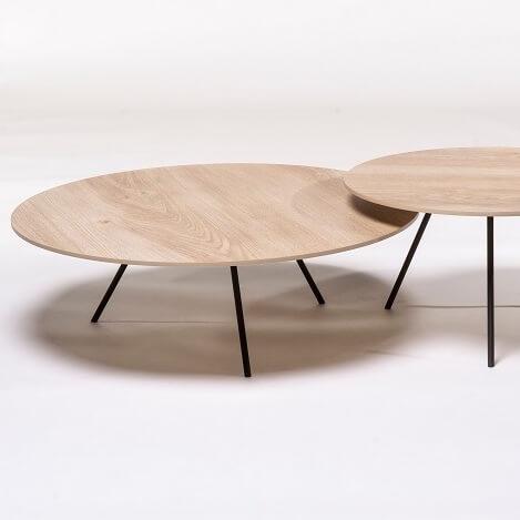 Dp Keramiek Wood Naturel Set Van 2