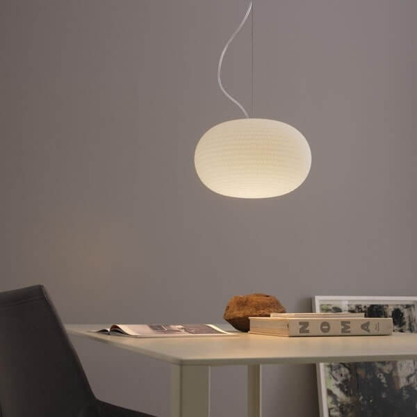 Fontana Arte Bianca Fontana Arte Suspension Lamp 2C Medium 2C Led Ft F430685150Bile Product Product Normal