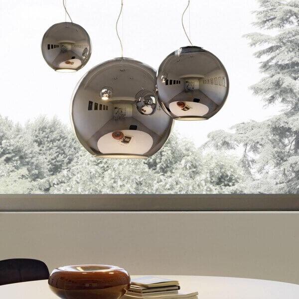 Fontana Arte Globo Di Luce Fontana Arte Suspension Medium Lamp Ft F364485150Crne Project Product Normal