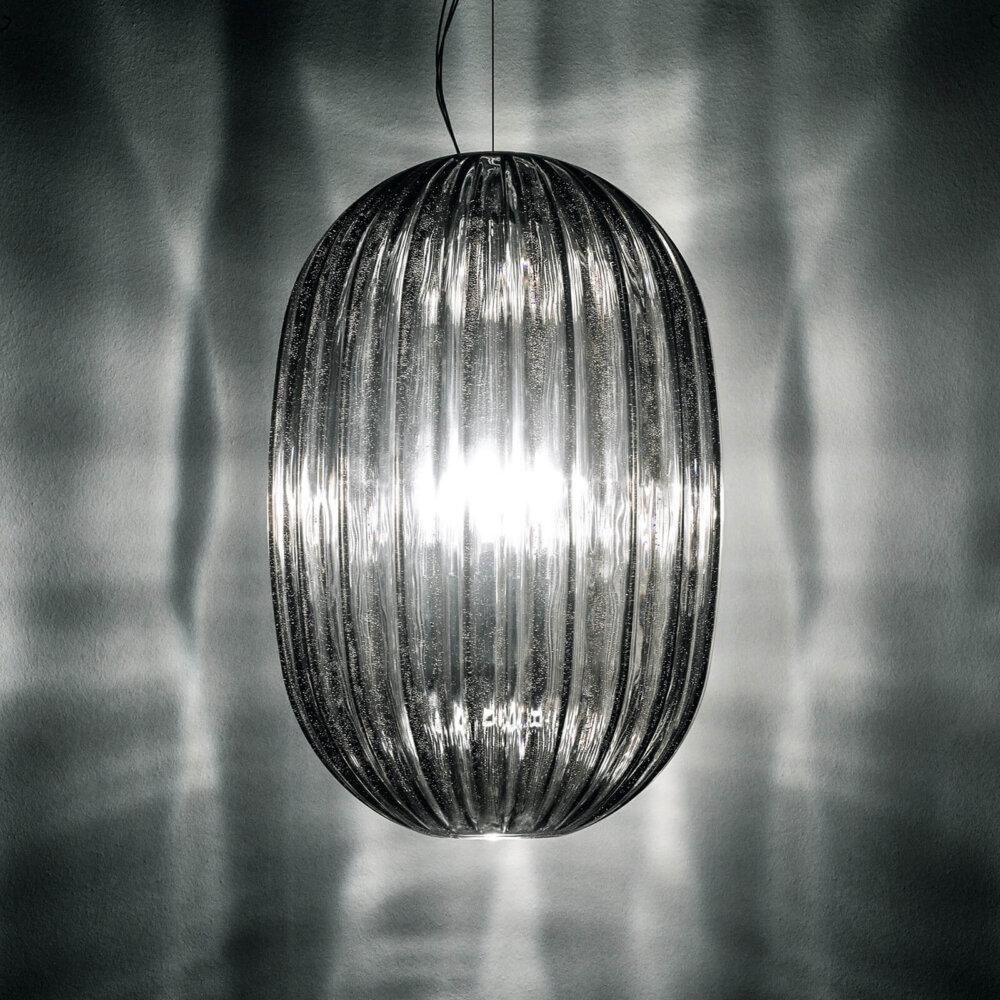 Foscarini Plass Media Hanglamp E27 Grijs