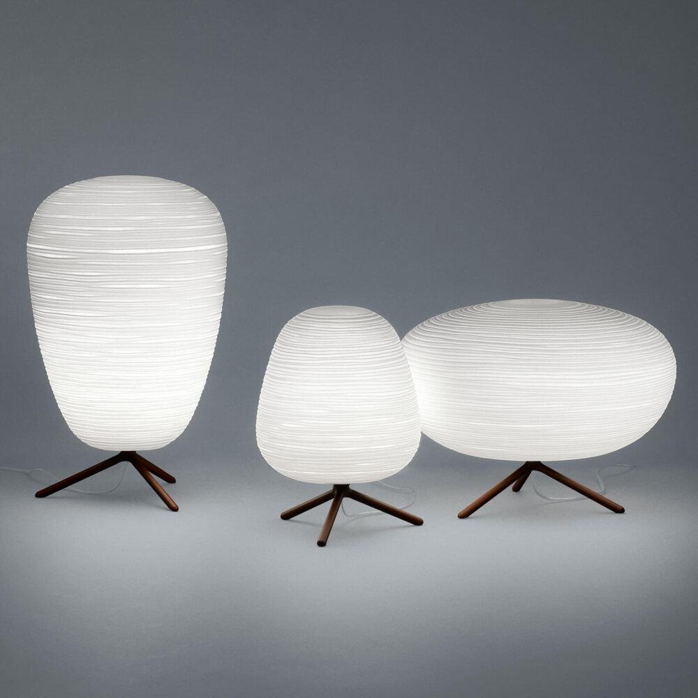 Foscarini Rituals 3 Glazen Tafellamp Met Dimmer