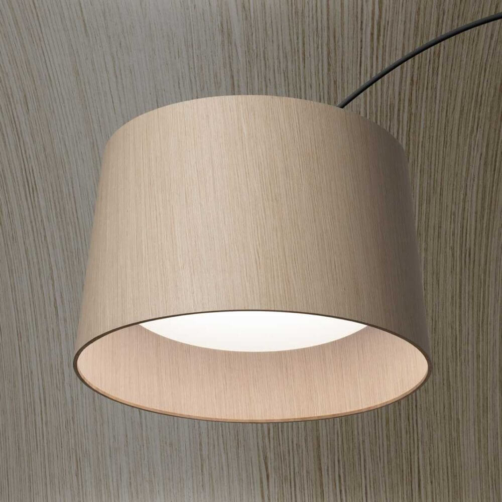 Foscarini Twiggy Wood Vloerlamp Detail Foto