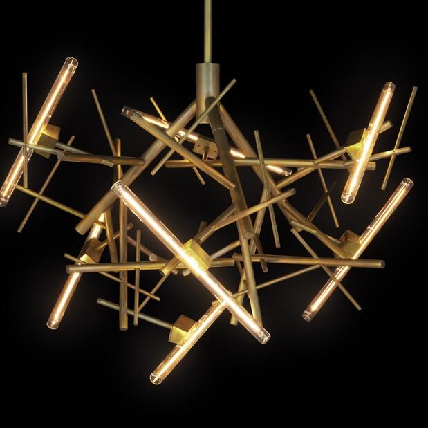 08 Modern Chandeliers Contemporary Lighting Linea Collection Linc100Brbur Brandvanegmond 5
