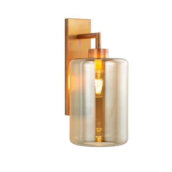10 Modern Wall Lights Contemporary Sconces Louise Collection Low60Copbur Gllobro22 Brandvanegmond