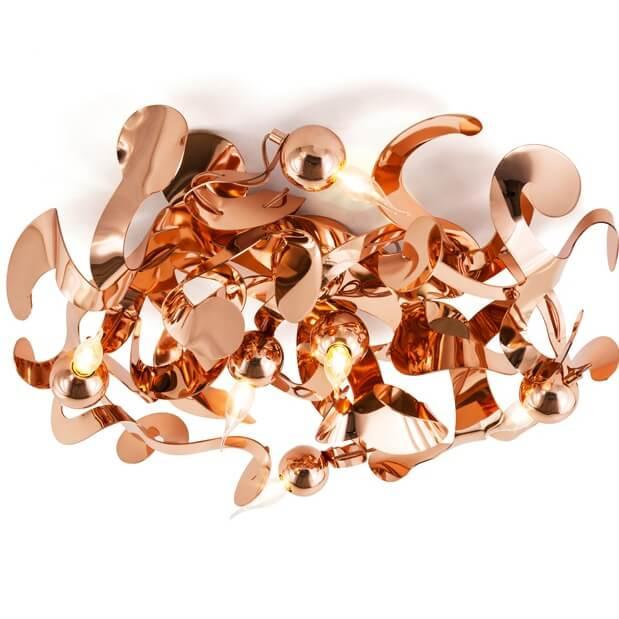 110 Modern Ceiling Lights Light Fixtures Kelp Collection Kelpp60Cop Brandvanegmond