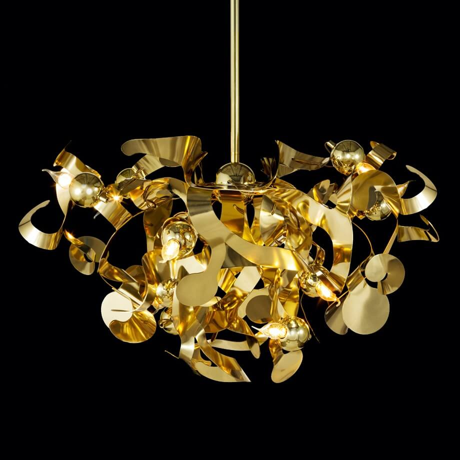 110 Modern Lighting Light Design Kelp Collection Kelpc100Br Brandvanegmond