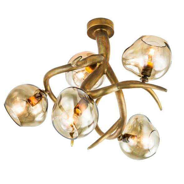 20 Modern Ceiling Lights Light Fixtures Ersa Collection Ersacp80Brbur Glbro Brandvanegmond