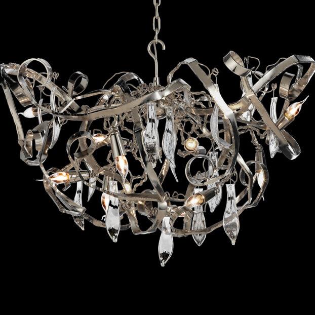 270 Modern Chandeliers Contemporary Lighting Delphinium Collection Dc80N Brandvanegmond