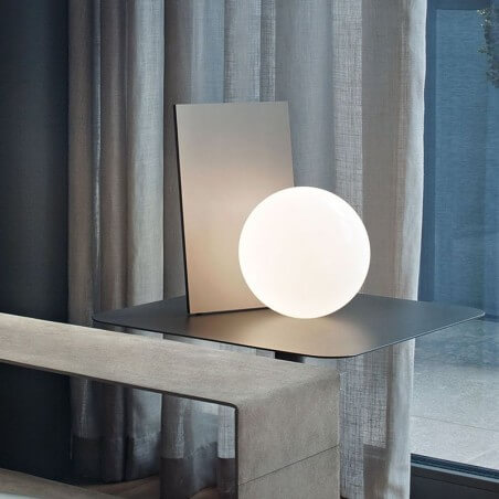 Flos Extra T Led Table Lamp Anodized Graphite F2130033