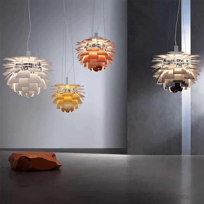 Louis Poulsen Hanglamp Ph Artichoke Led Koper Door Poul Henningsen 0