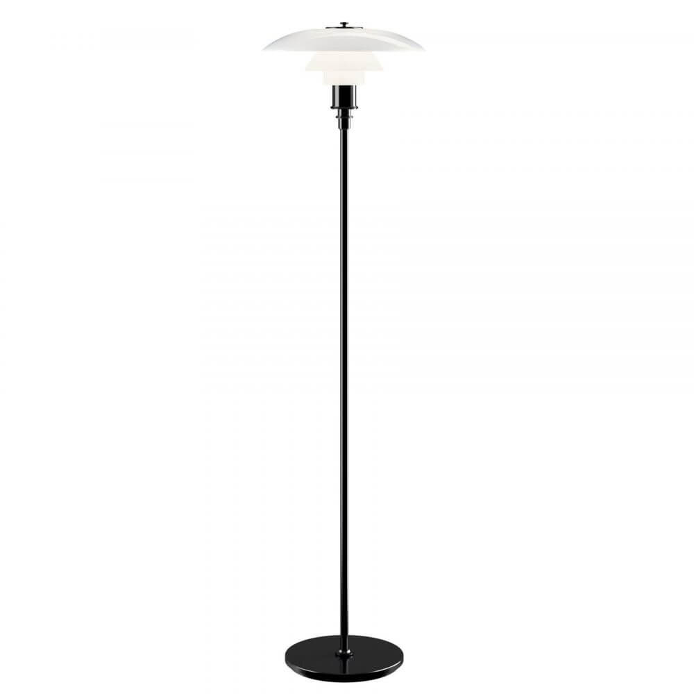 Louis Poulsen Ph 3 5 2 5 Vloerlamp Zwart Gemetaliseerd