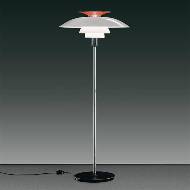 Louis Poulsen Vloerlamp Ph80 Floor Door Poul Henningsen 1